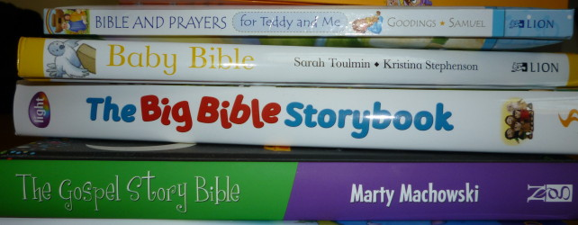 Children's story Bibles and why we give our children such rubbish